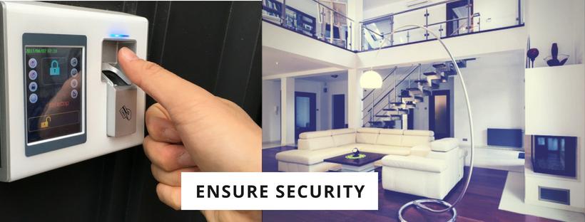 Ensure security